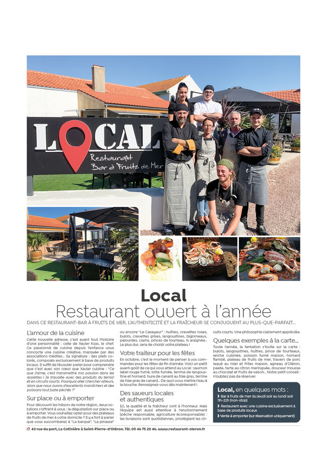 You are currently viewing Article du mois d'octobre